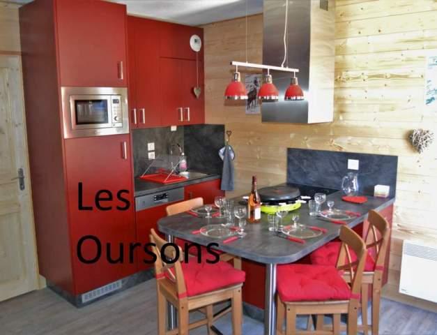 Location studio 4 personnes la rosi re station la rosi re for Leboncoin cuisine
